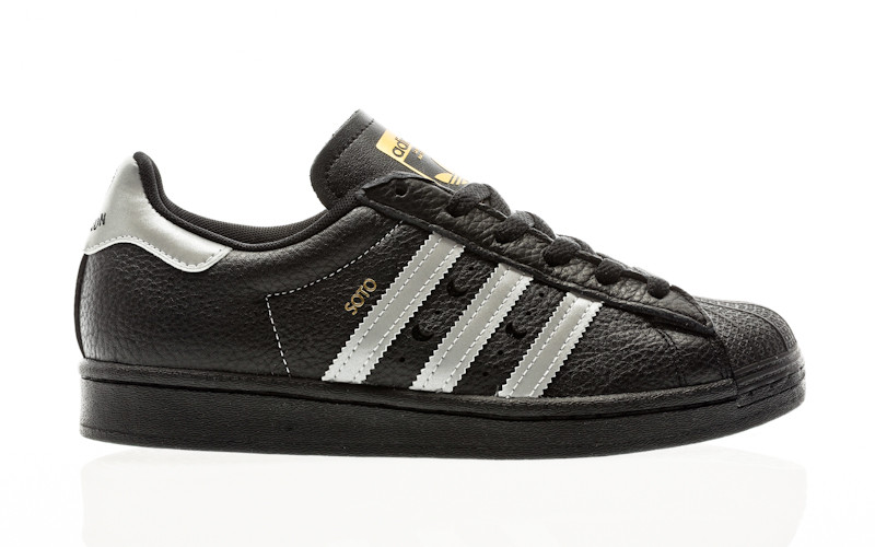adidas Skateboarding Superstar ADV X Soto core black-silver metallic-gold metallic