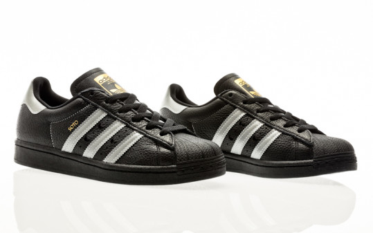 adidas Skateboarding Superstar ADV X Soto core black-silver metallic-gold metallic