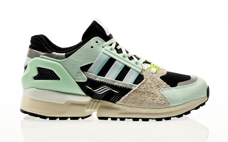 adidas Originals ZX 10,000 C dash green-clear aqua-core black