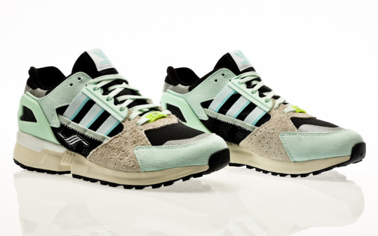 adidas Originals ZX 10,000 C dash green-clear aqua-core black