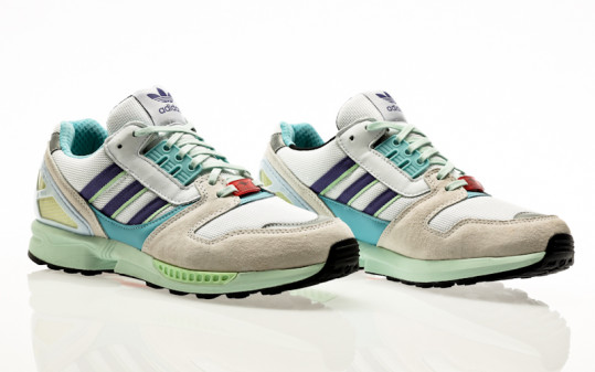 adidas Originals ZX 8000 footwear white-purple-light aqua