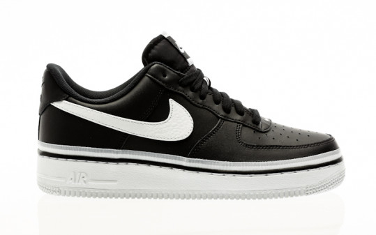 Nike Air Force 1 07 Lv8 black-white-wolf grey