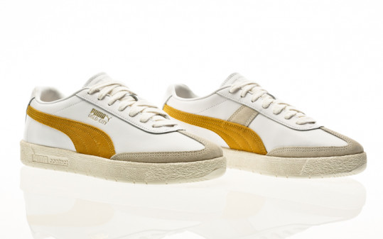 Puma Oslo-City PRM puma white-super lemon-vaporous gray