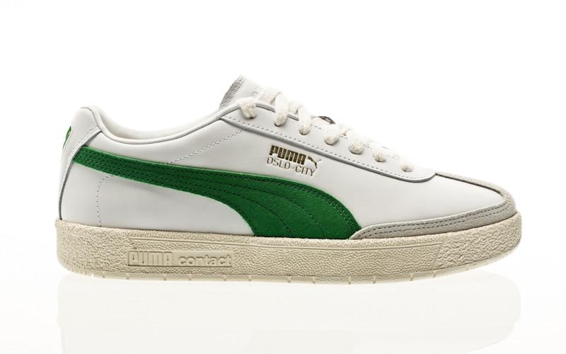 Puma Oslo-City PRM puma white-amazon green