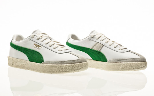 Puma Oslo-City PRM puma white-amazon green