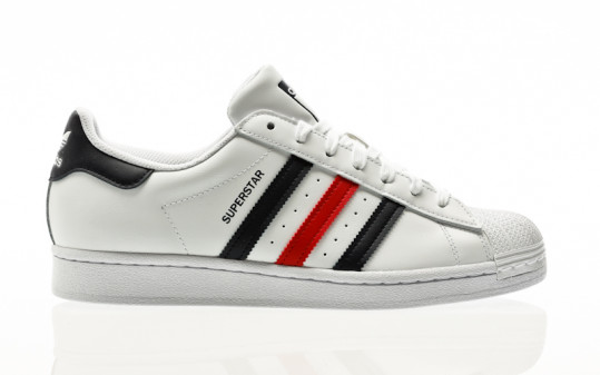 adidas Originals Superstar footwear white-scarlet-footwear white