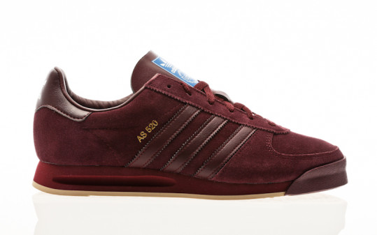 adidas Originals AS 520 maroon-maroon-st pale nude