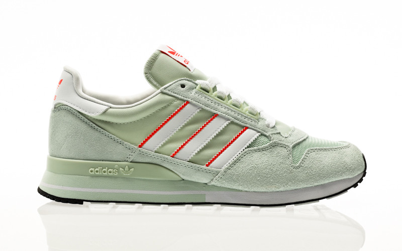 adidas Originals ZX 500 dash green-solar red-core black