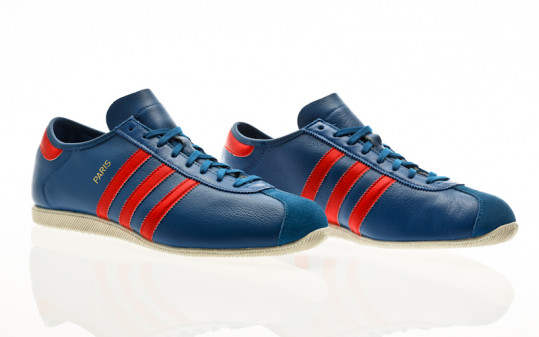 adidas Originals Paris lush blue-lush red-off white