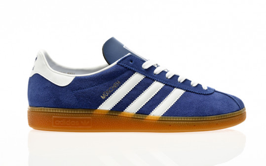 adidas Originals Munchen team royal blue-footwear white-gum