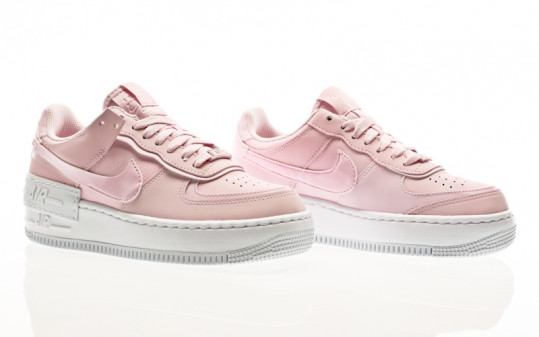 Nike W Air Force 1 Shadow pink foam -pink foam -white