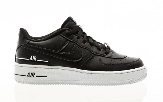 Nike Air Force 1 Lv8 3 (GS) black-black-white