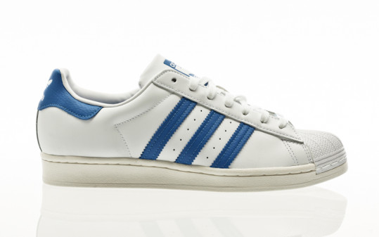 adidas Originals Superstar footwear white-bluebird-off white
