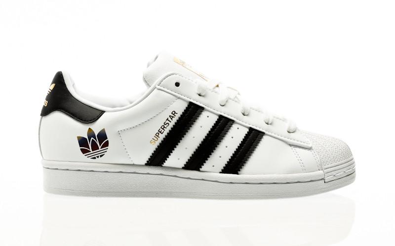 adidas Originals Superstar W footwear white-core black-gold metallic