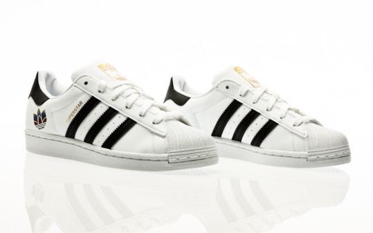 adidas Originals Superstar W footwear white-core black-gold metallic