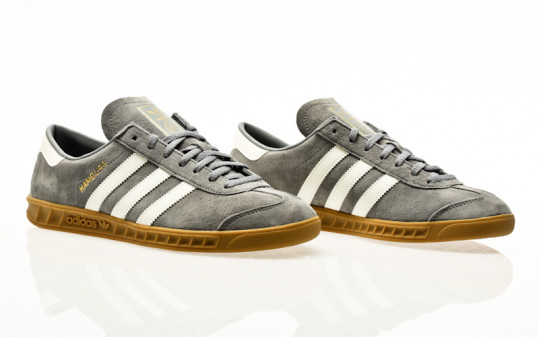 adidas Originals Hamburg grey-off white-gum