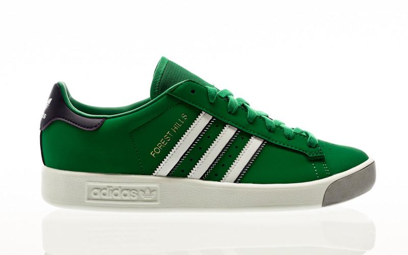 adidas Originals Forest Hills green-footwear white-dark purple
