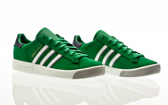 adidas Originals Forest Hills green-footwear white-dark purple