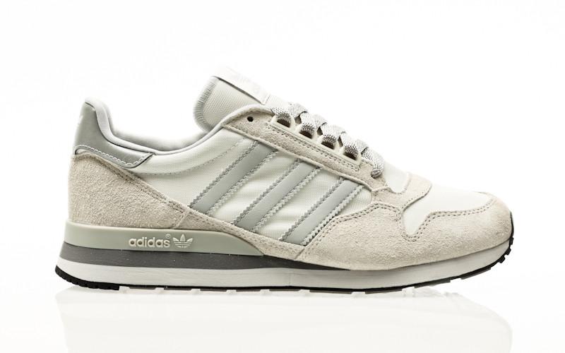 adidas Originals ZX 500 grey one-grey two-crystal white