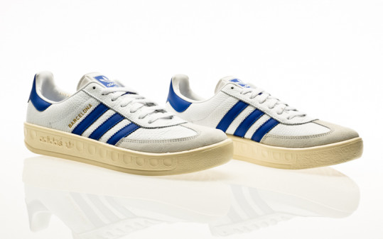 adidas Originals Barcelona footwear white-blue-cream white