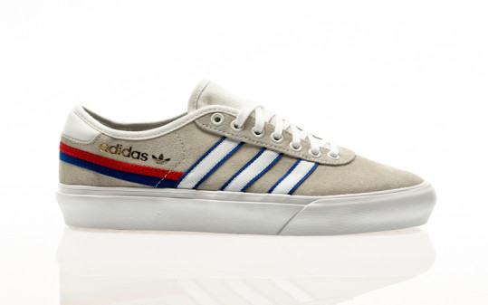 adidas Skateboarding Delpala crystal white-footwear white-team royal blue