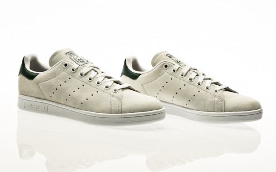 adidas Skateboarding Stan Smith ADV crystal white-mineral green-footwear white