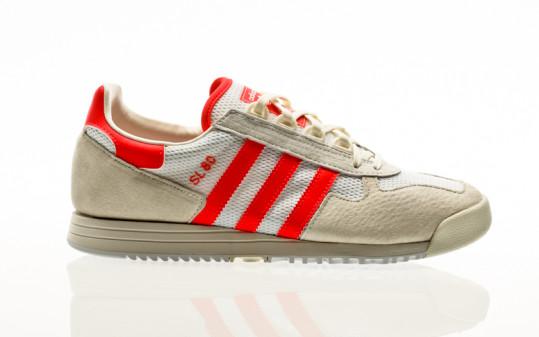 adidas Originals SL 80 footwear white-solar red-off white
