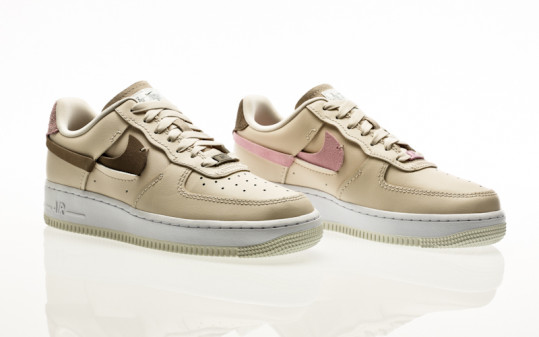 Nike Air Force 1 LXX lt orewood brown-olive grey-lt arctic pink