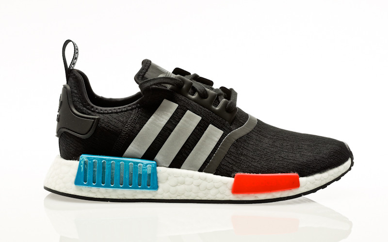 adidas Originals NMD_R1 core black-silver metallic-solar red
