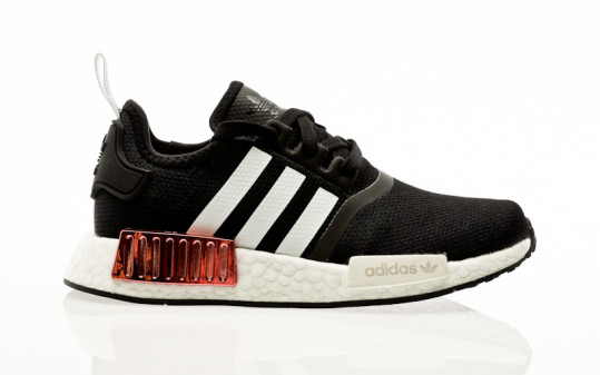 adidas Originals NMD_R1 W core black-footwear white-hazy rose