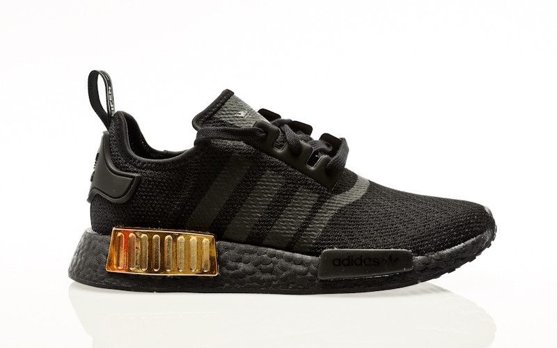 adidas Originals NMD_R1 W core black-core black-gold metallic
