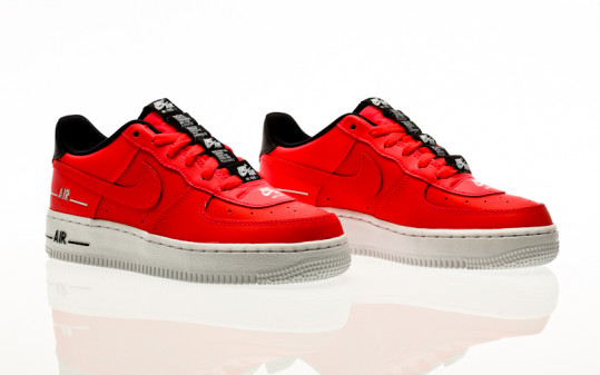 Nike Air Force 1 LV8 3 (GS) laser crimson-laser crimson-black-white