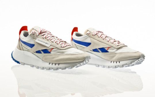 Reebok CL Legacy morning fog-court blue-dynamic red