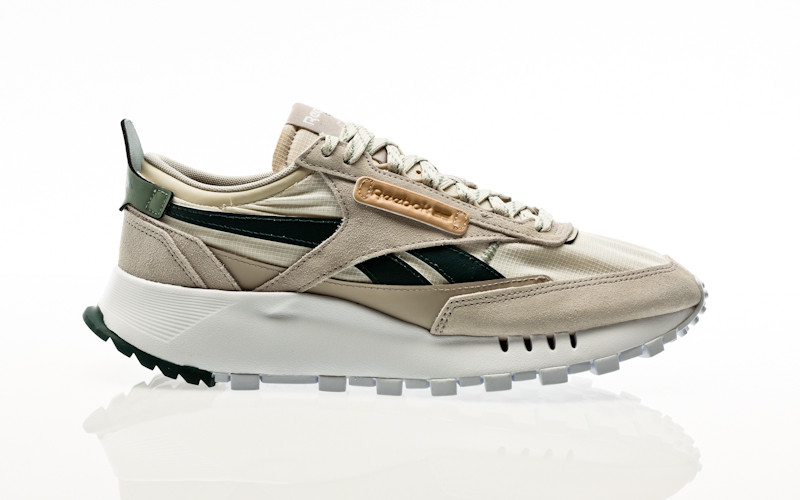 Reebok CL Legacy sand stone-forest green-harmony green