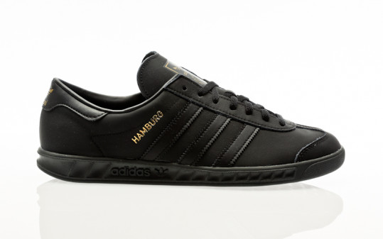 adidas Originals Hamburg core black-core black-gold met-
