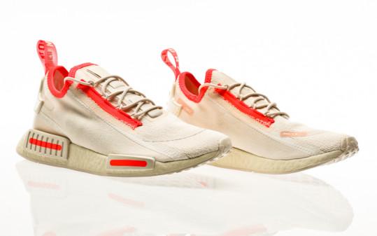 adidas Originals NMD_R1 Spectoo halo ivory-lush red-cream white