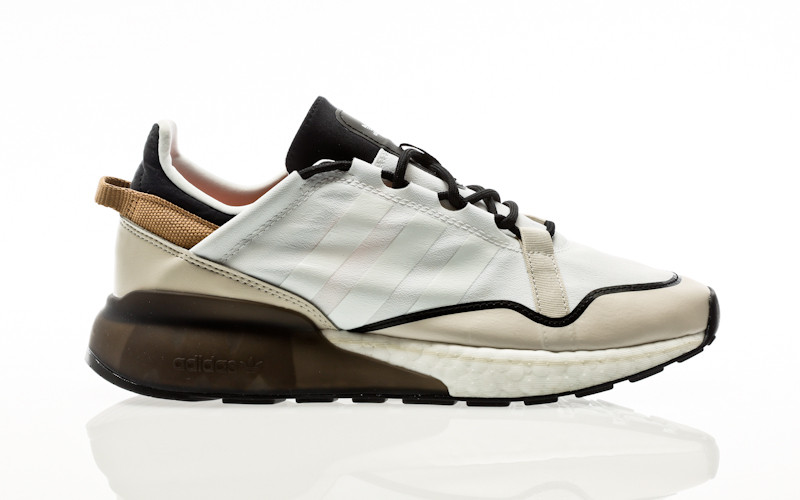 adidas Originals ZX 2K Boost Pure footwear white-clear brown-cardboard