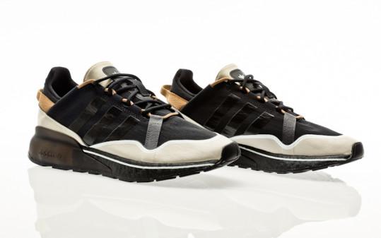 adidas Originals ZX 2K Boost Pure core black-clear brown-cardboard
