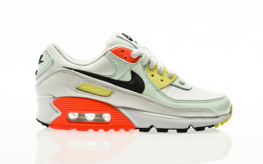 Nike W Air Max 90 summit white-dk smoke grey-barely green