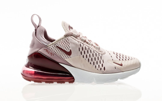 Nike W Air Max 270 barely rose-vintage wine-elemental rose
