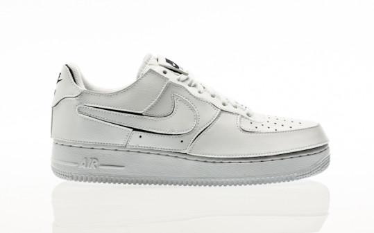 Nike AF 1/1 white-white-black-cosmic clay