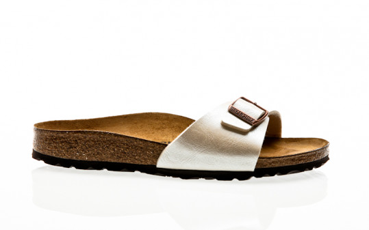 Birkenstock Madrid BF graceful pearl white