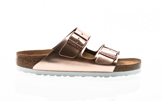 Birkenstock Arizona NL WB metallic copper
