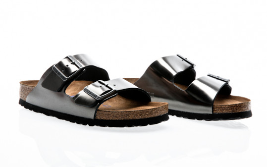 Birkenstock Arizona NL WB metallic anthracite