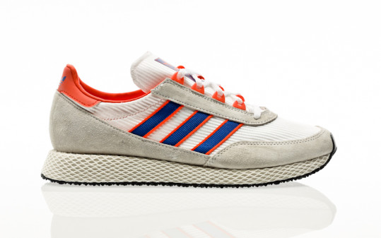 adidas Originals Glenbuck footwear white-team royal blue-true orange