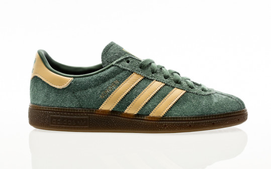 adidas Originals Munchen green oxide-hazy beige-gold metallic