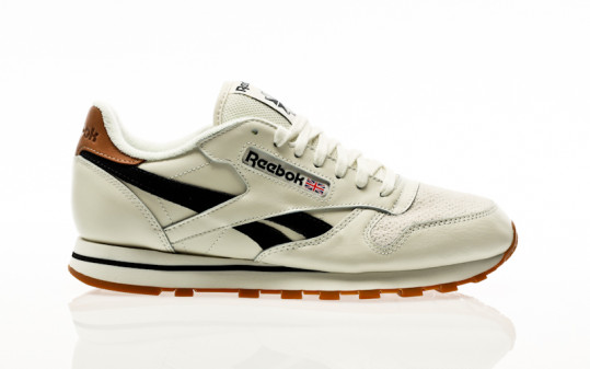 Reebok Classic Leather chalk-black-chalk