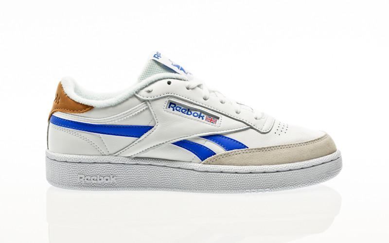 Reebok Club C Revenge white-court blue-white