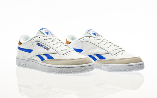 Reebok Club C Revenge white-court blue-white