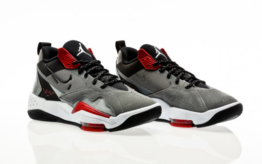 Nike Jordan Zoom 92 smoke grey-black-gym red-white